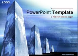 science and technology building background ppt building templates