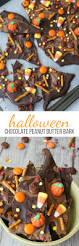 halloween chocolate peanut butter bark recipe see vanessa craft