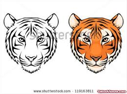 tiger heads tattoos designs viewer com