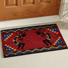 Front Door Carpet by Flooring Kokopelli Southwest Coir Doormat For Front Door