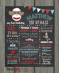 29 best images about ell u0027s first birthday on pinterest sock