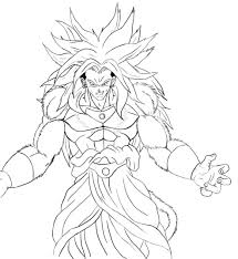 dragon ball z 269 cartoons u2013 printable coloring pages