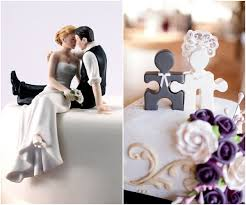 specific wedding cake with cake topper how ornament my
