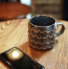 Gold Coffee Mug Genuine Starbucks The Tail Of Siren Gold Scale Mug 10oz 2016