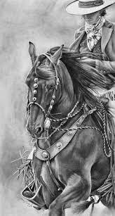 pencil for painting western time cowboy pencil drawing