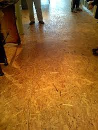 stained chipboard floor gertrude
