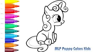 coloring pages sweetie belle mlp draw sweetie belle drawing