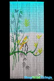 Painted Bamboo Curtains Bamboo Curtains Shop Beaded Painted Styles