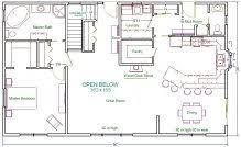 30x50 House Floor Plans Package Plan Examples