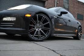 porsche black rims flow black machined face rims gwg wheels