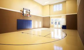 Home Basketball Court Design For Exemplary Basketball Court - Home basketball court design