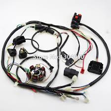 aliexpress com buy buggy wiring harness loom gy6 cdi electric