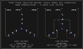 wye delta motor wiring diagram bioart me