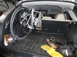hatchback subaru inside roadbike upright inside on fork mounts subaru outback subaru