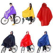 cycling raincoat generic bike cycling bicycle unisex hood waterproof cover