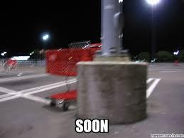 Shopping Cart Meme - shopping cart plots to dent your car
