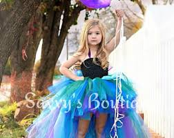 Peacock Halloween Costume Girls Peacock Tutu Etsy