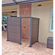Backyard Screens Outdoor by The Versare Configurable Wicker Partition System Allows You To