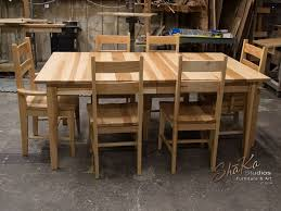 hickory dining room chairs simple ideas hickory dining table strikingly beautiful hickory