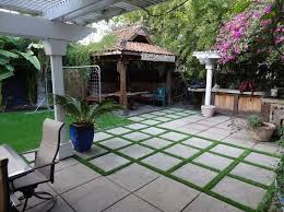 Flagstone Patio With Pergola 20 Best Stone Patio Ideas For Your Backyard Home And Gardens