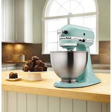 Kitchenaid Artisan 5 Qt Stand Mixer by Kitchenaid Ultra Power Stand Mixer 4 26l 300 Watt Ice Blue