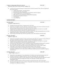 Lab Experience Resume Bianca Walker Resume