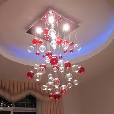 Hanging Ceiling Lights Ideas Glamorous Popular Mercury And Clear Small Balls Hanging Modern
