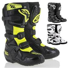black motocross boots youth motocross boots