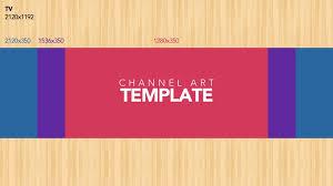 youtube channel layout 2015 youtube channel art template ytt
