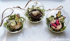 diy glass ornament ideas diy inspired