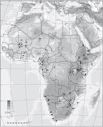 Map Of Sub Saharan Africa Early Agriculture In Sub Saharan Africa To C 500 Ce