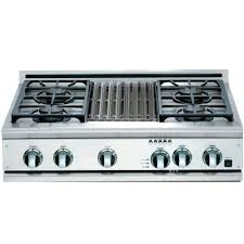 Frigidaire Gas Cooktops Kitchen Best Lp Convertible Gas Cooktops The Home Depot Within