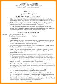 resume summary exles summary of qualifications sles vibrant idea resume summary