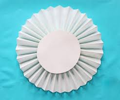 Circle Window Blinds How To Make A Party Backdrop With Paper Window Shades Design Dazzle