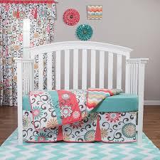 Waverly Crib Bedding Trend Lab Waverly Pom Play 4 Pc Baby Bedding Set Jcpenney