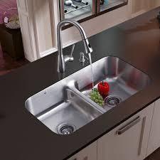 Kitchen Sinks Stainless SteelApron Sink Farmhouse Sink Apron - Single or double bowl kitchen sink