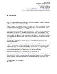 blackberry support cover letter