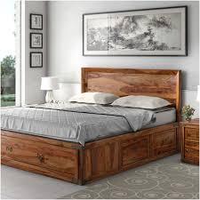 shaker solid wood storage platform captain u0027s bed