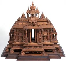 india hindu temple model including details from medieval