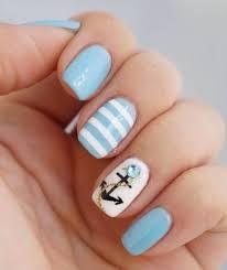 anchor nails best 25 nautical nail designs ideas on