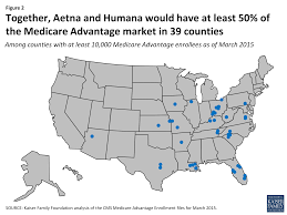 Map Of Volusia County Data Note Medicare Advantage Enrollment By Firm 2015 The