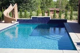 backyard pools with rock slides backyard design ideas