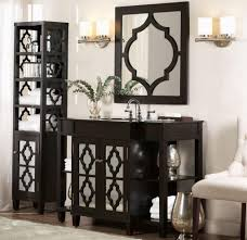decorative bathroom ideas bathroom vanity with linen cabinet genersys