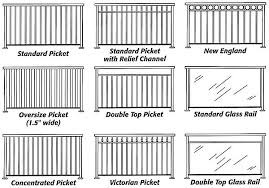 Patio Railing Designs Alunium Railings Gates Fences Glas Railings Patio Covers Fences