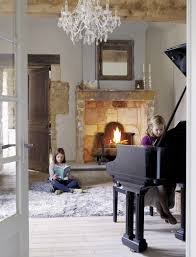 Shabby Chic Fireplaces by Precious Stone Old Farmhouse With Shabby Chic Details France