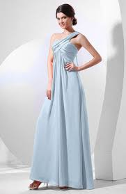ice blue color bridesmaid dresses empire uwdress com