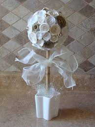 Paper Rose Topiary - 7 best paper rose topiary images on pinterest topiaries paper