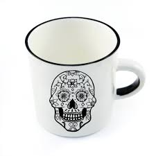 Buy Coffee Mugs Handcrafted Skull Ceramic Mug Online Sugar And Vice South
