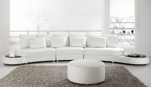 Contemporary White Leather Sofas The Genova Luxury European Luxury Style Living Room Sofa Sectional