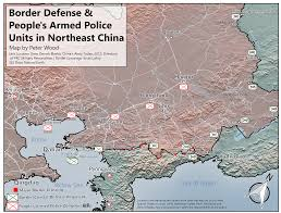 Middle East Map Test by Strategic Assessment China U0027s Northern Theater Command Jamestown